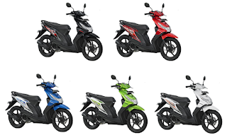 Warna Honda Beat 2012