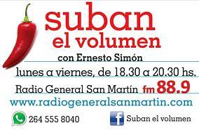 SUBAN EL VOLUMEN