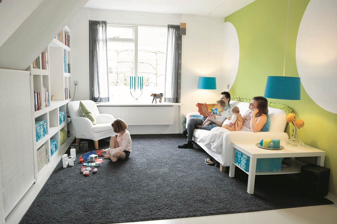 Image result for small living room kids area