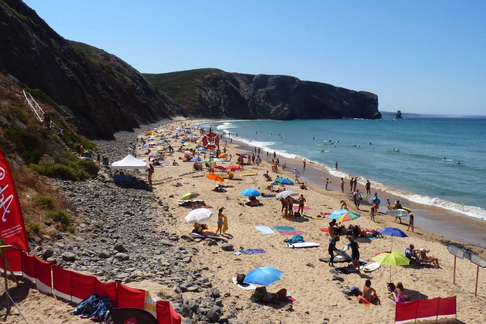 Playa de Arrifana.