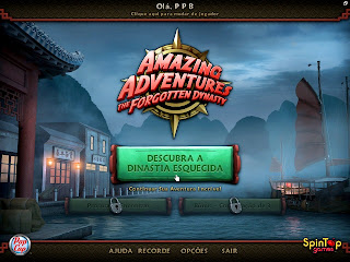 Amazing Adventures The Forgotten Dynasty