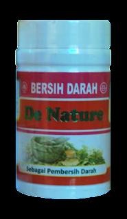 Obat Herbal Bersih Darah De Nature Indonesia