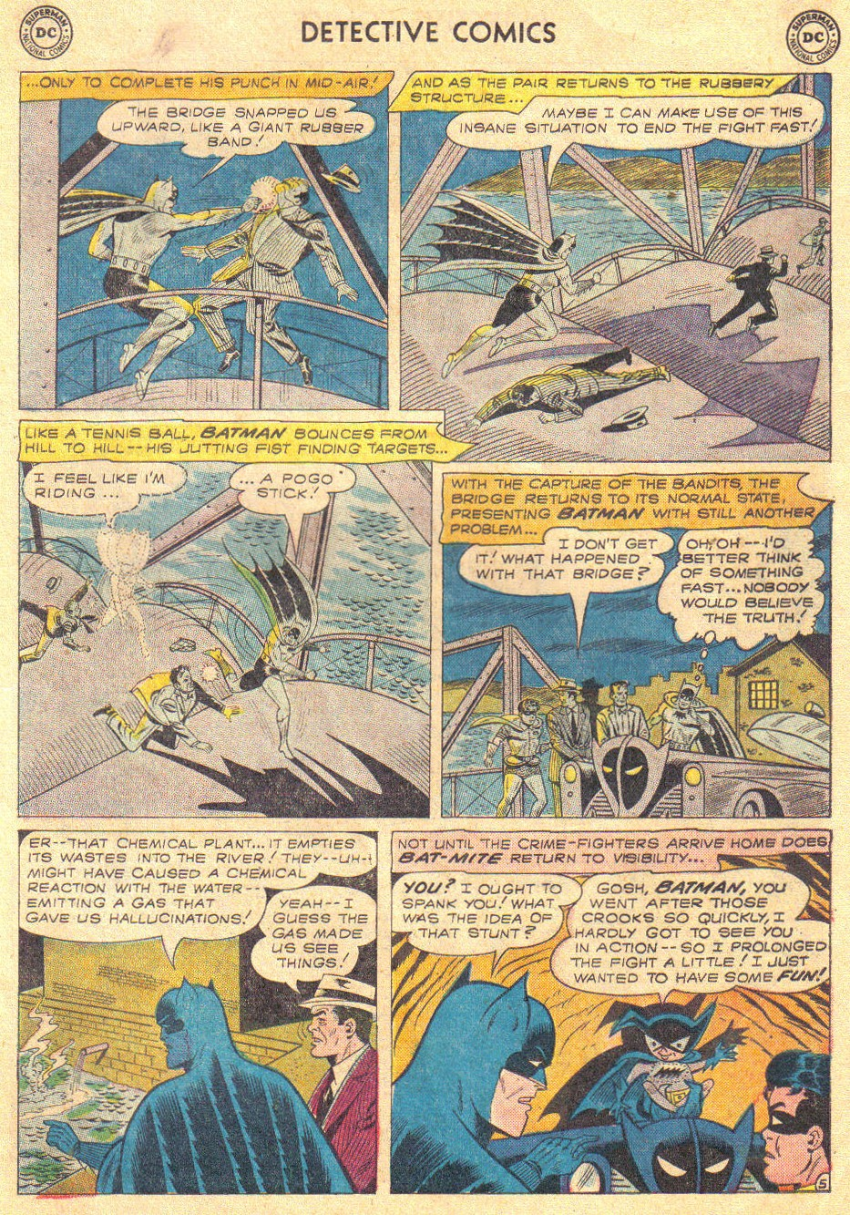Read online Detective Comics (1937) comic -  Issue #267 - 7