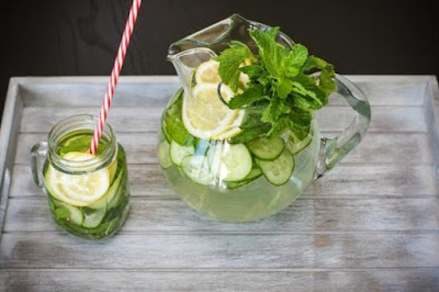 cucumber and lime detox water lose weight