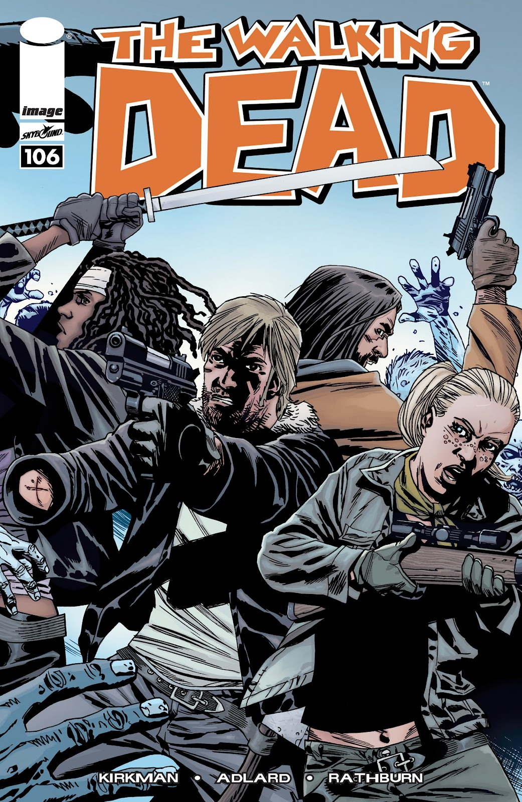The Walking Dead issue 106 - Page 1