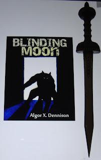 Portada del libro Blinding Moon, de Algor X. Dennison