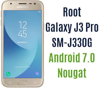 Root Galaxy J3 Pro SM-J330G
