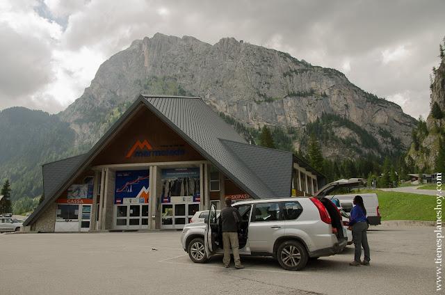 Teleférico de la Marmolada Dolomitas Italia