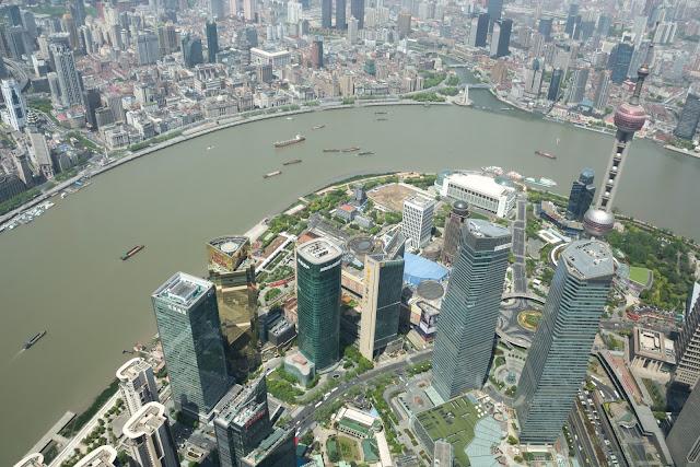 čína, china, šanghaj, shanghai, pudong, skyscrapers, Shanghai Tower