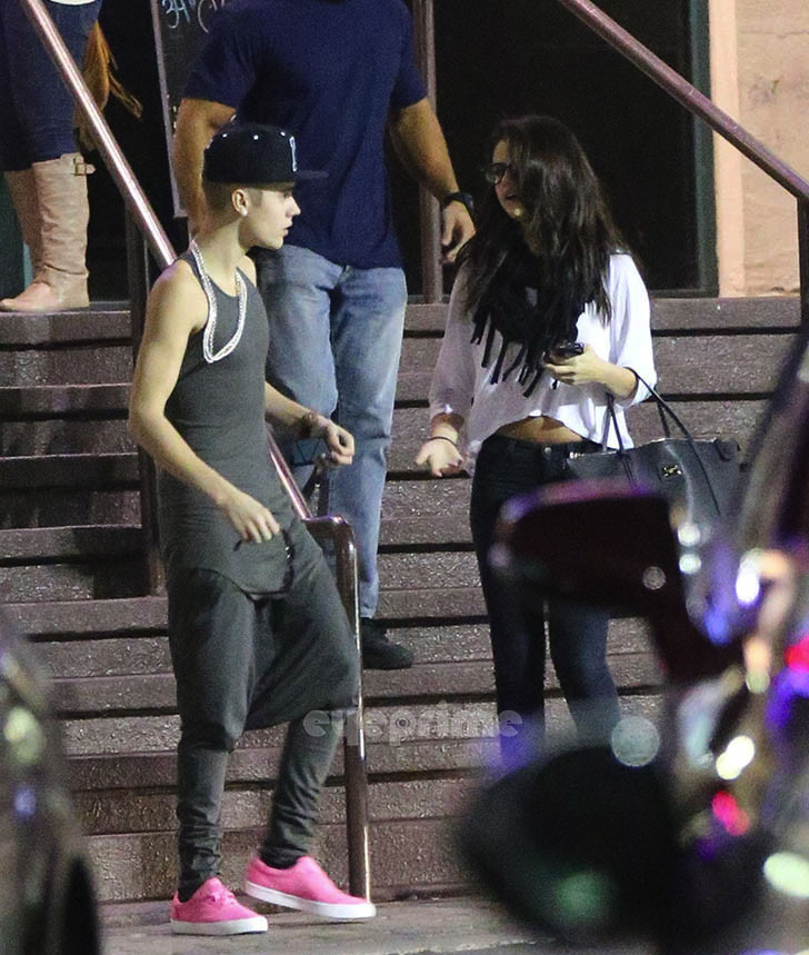 Justin Bieber And Selena Gomez Dinner Fight