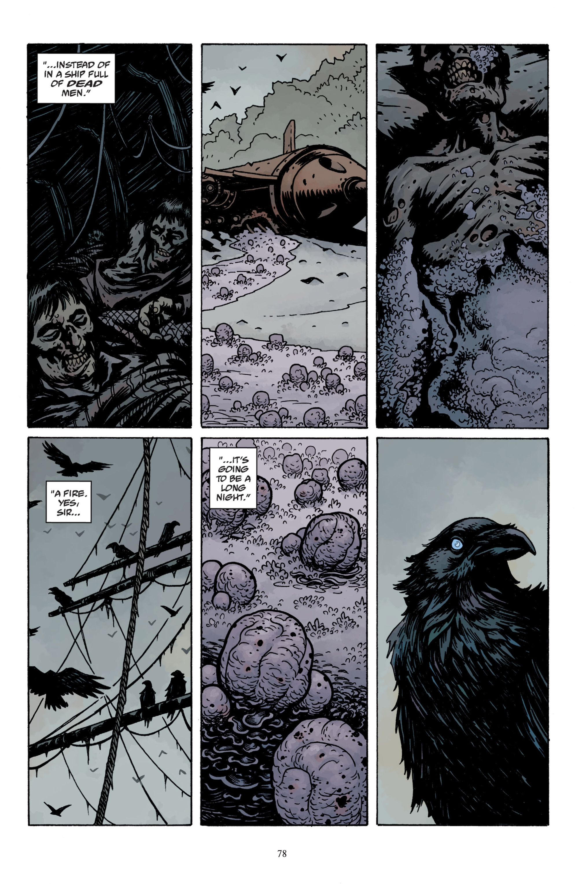 Read online Baltimore: The Plague Ships comic -  Issue # TPB - 80
