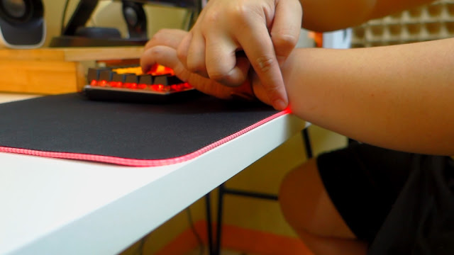 tecware haste extended mousepad review