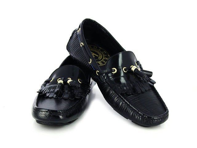 Alberto Torresi Calvin Black Shoes