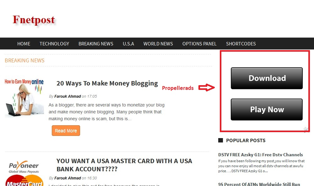 how to add ads to my website