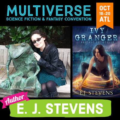 E.J. Stevens guest at Multiverse Convention Atlanta 2019
