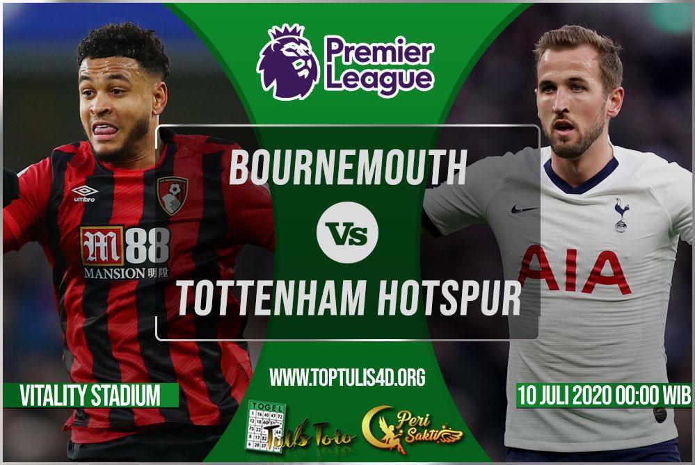 Prediksi Bournemouth vs Tottenham Hotspur 10 Juli 2020