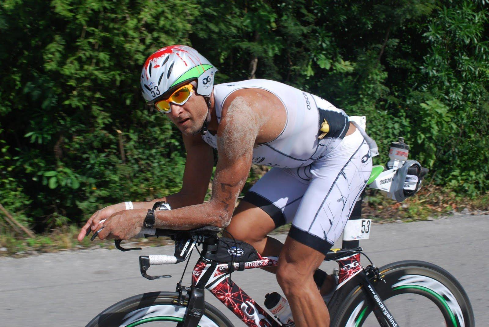 cc7fab3d8 En primera persona  Galindez y el Ironman de Cozumel