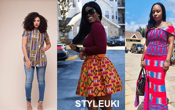 kente styles with lace fabrics have always created their statement with little or no assi 39 Stunning Kente Styles Mixed With Lace Attires For African American Women