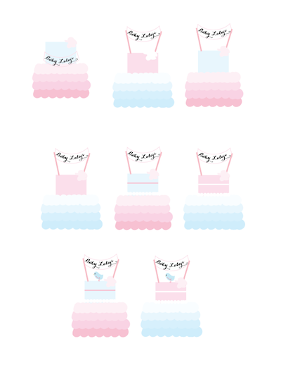 wedding cake design process pink orchid weddings baby shower cake design process 22456