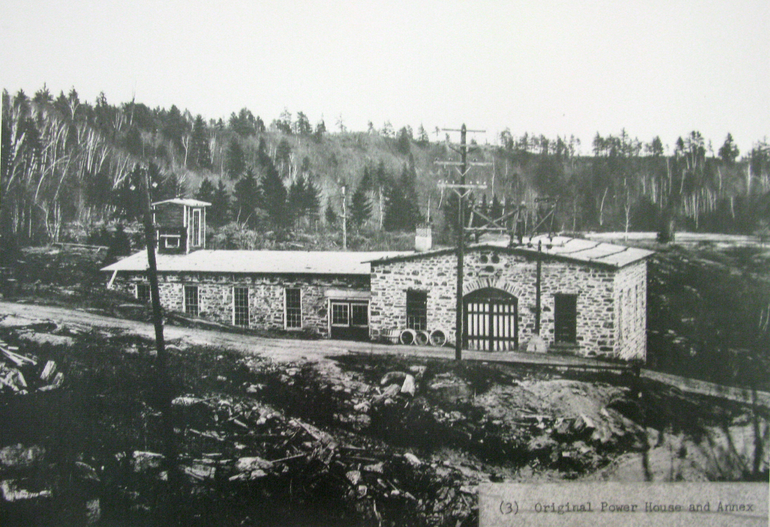 Canadas First Dam For A Hydro Electric Power Plant Saint Narcisse What Is Electrical The Initial In Dated From 1897 Which Left Part Of Building Photo Taken Photograph Displayed