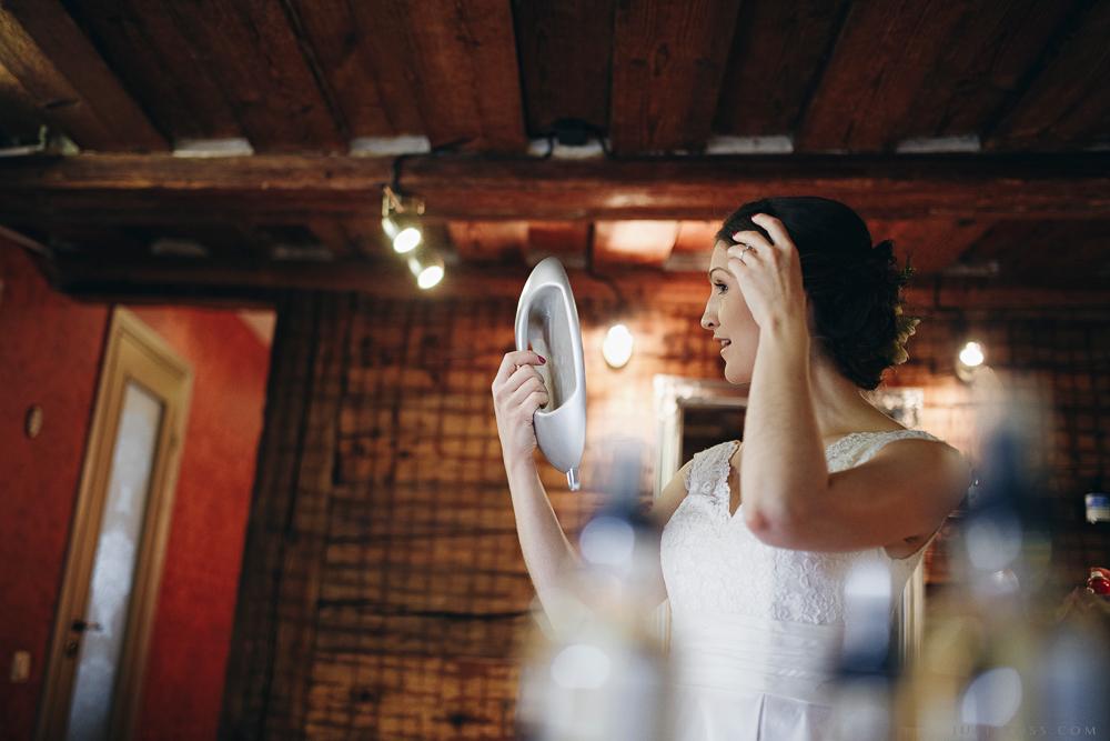 līgavas pārsteigums spogulis emocija rītā
