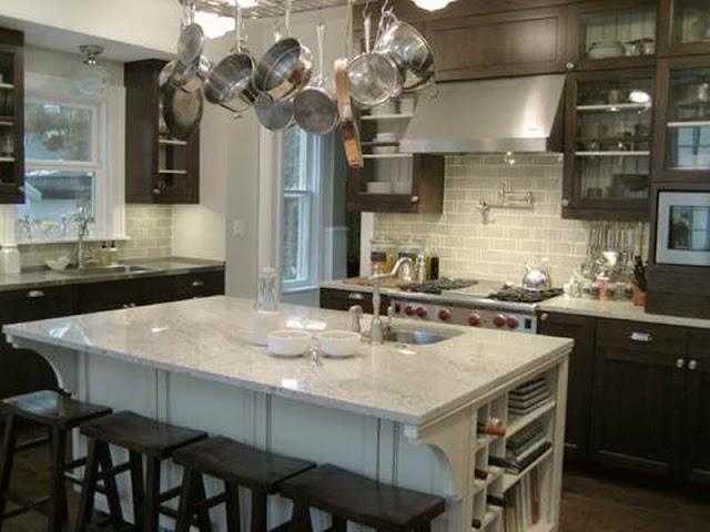 Valley white granite kitchen countertop ideas granite book for Economic kitchen designs