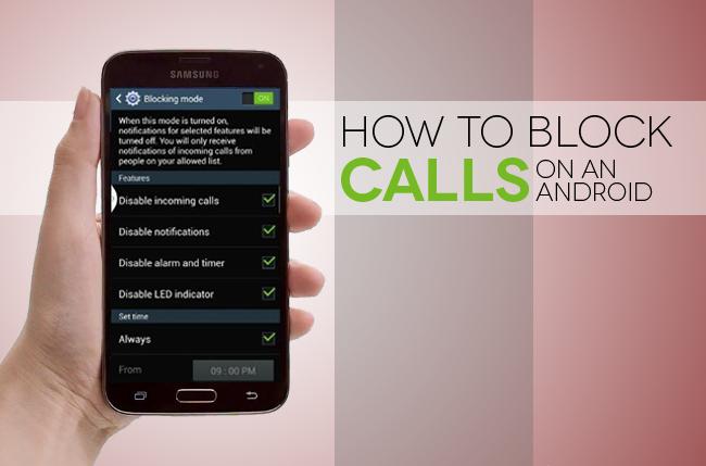 Cara Memblokir Panggilan Telepon dan SMS di Android