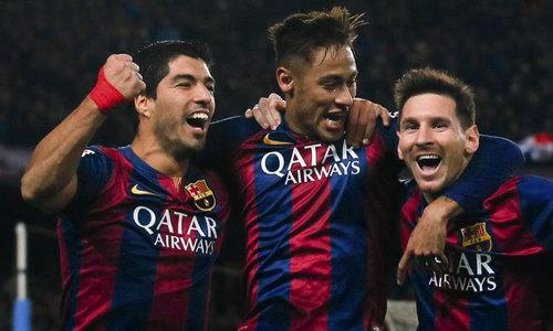 Bộ 3 M-N-S của Barca