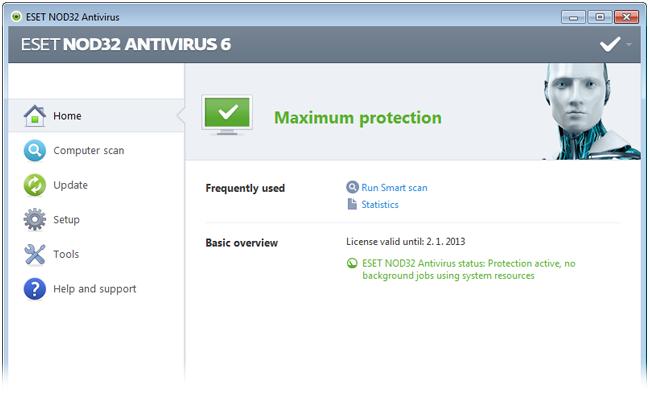 ESET NOD32 Antivirus 2017 + Crack (x86-x64) ~ FREESOFT
