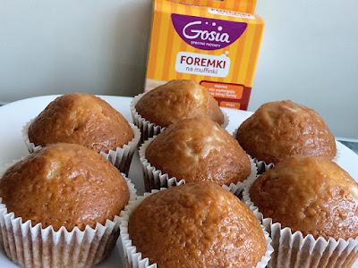 Muffiny z miodem