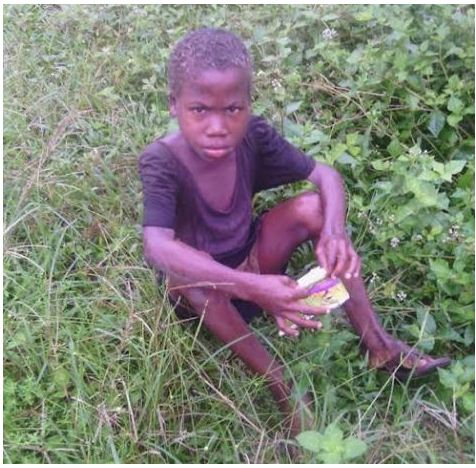 I lived In The Bush For A Year To Avoid 'Witch Killers'- 6 Year Old Israel Effiong's Disturbing Story