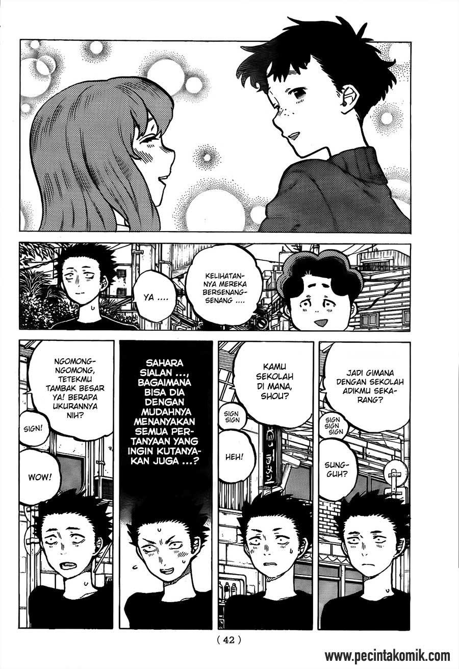 Koe no Katachi Chapter 17-7