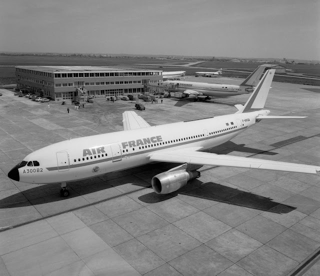 İlk ticari Airbus A300B2 Air France - 30 Mayıs 1974
