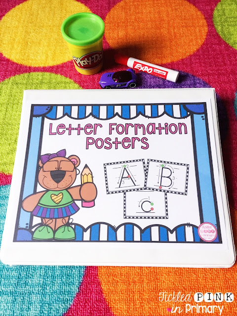 letter formation posters | Write Letters and Numbers