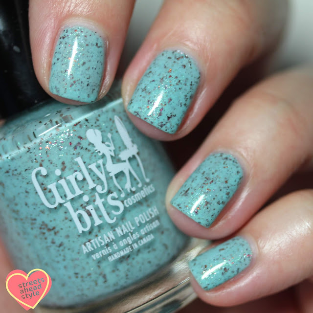 Girly Bits Cosmetics She's A Lady swatch by Streets Ahead Style