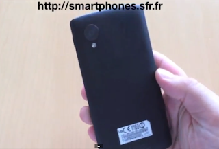 leaked video of nexus 5 prototype