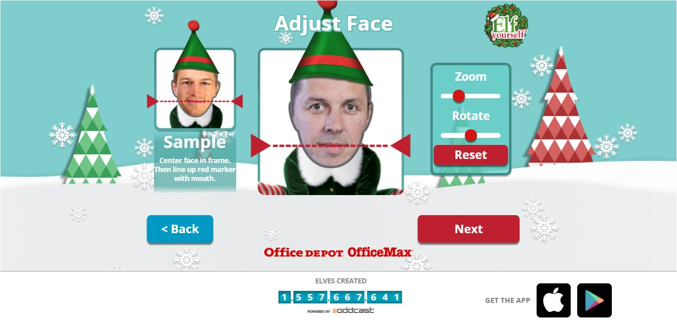 nick burcher: Elf Yourself 2017 - this year with Augmented