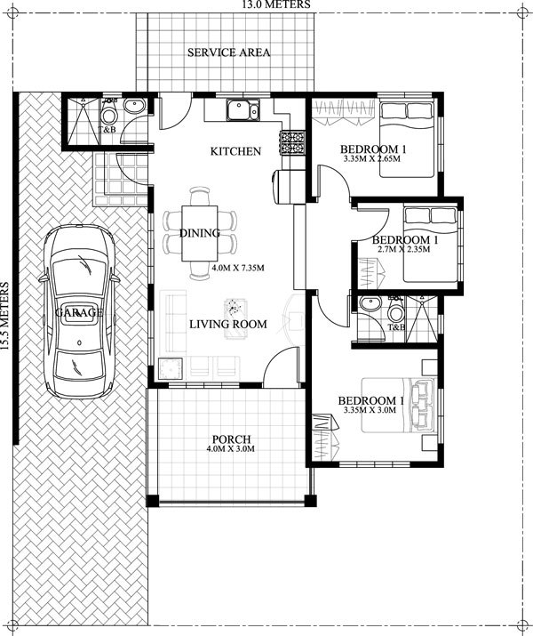 Modern House Design On Small Site Witin A Tight Budget: THOUGHTSKOTO