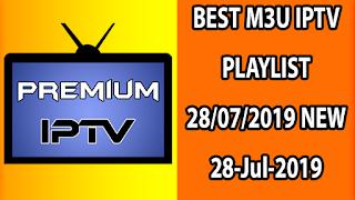 BEST M3U IPTV PLAYLIST 28/07/2019 NEW