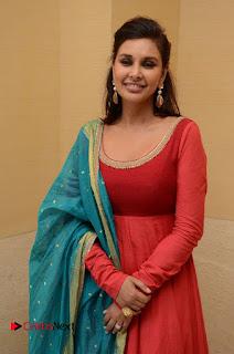 Actress Lisa Rey Stills in Salwar Kameez at Veerappan Movie Pressmeet 0012