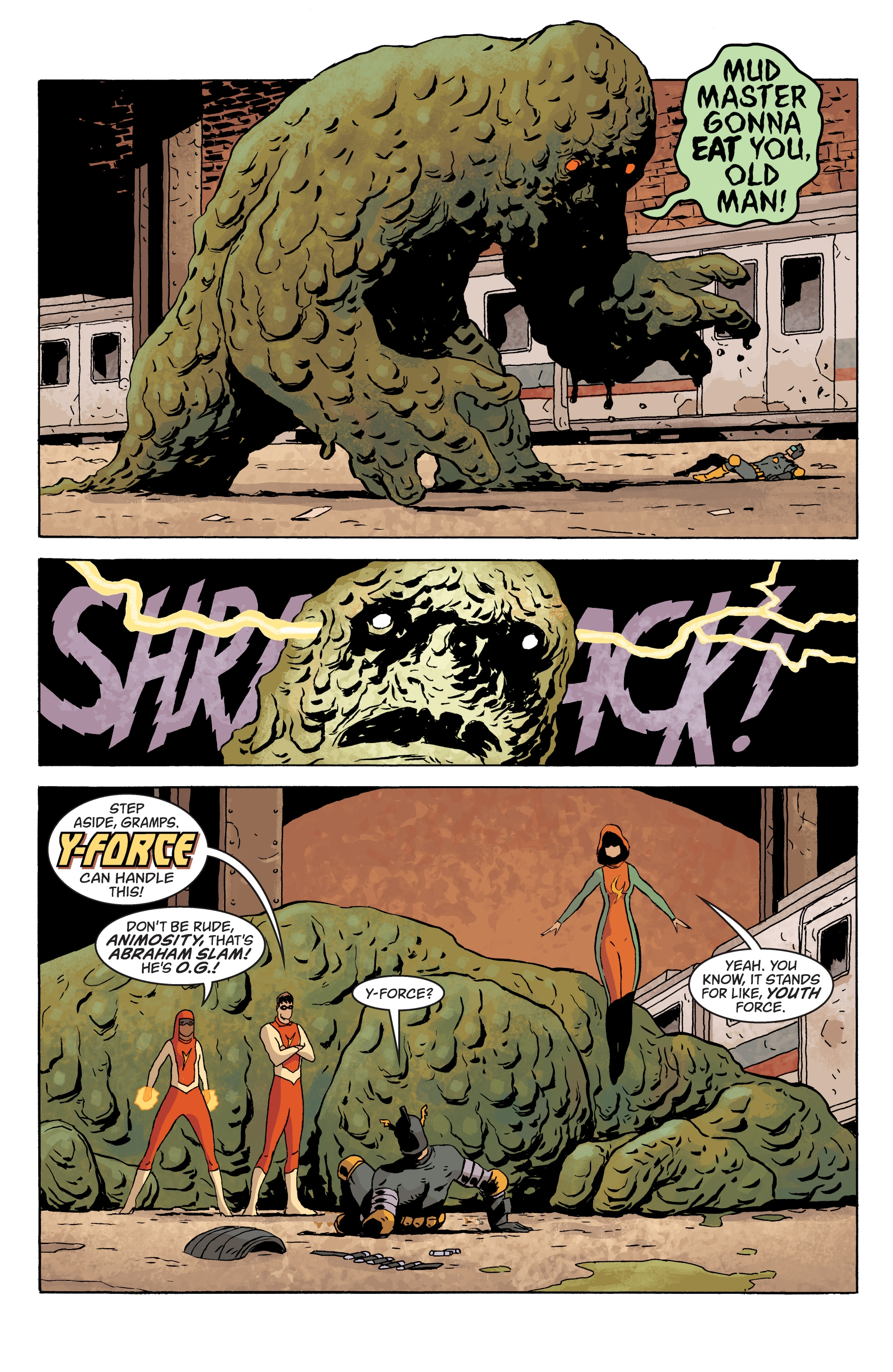 Read online Black Hammer comic -  Issue #10 - 18
