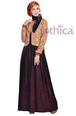 baju muslim wanita berjilbab