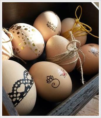 húsvéti dekoráció