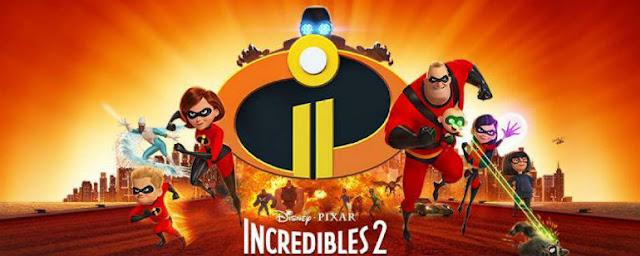 A família Incrível em poster exclusivo Os Incríveis 2.