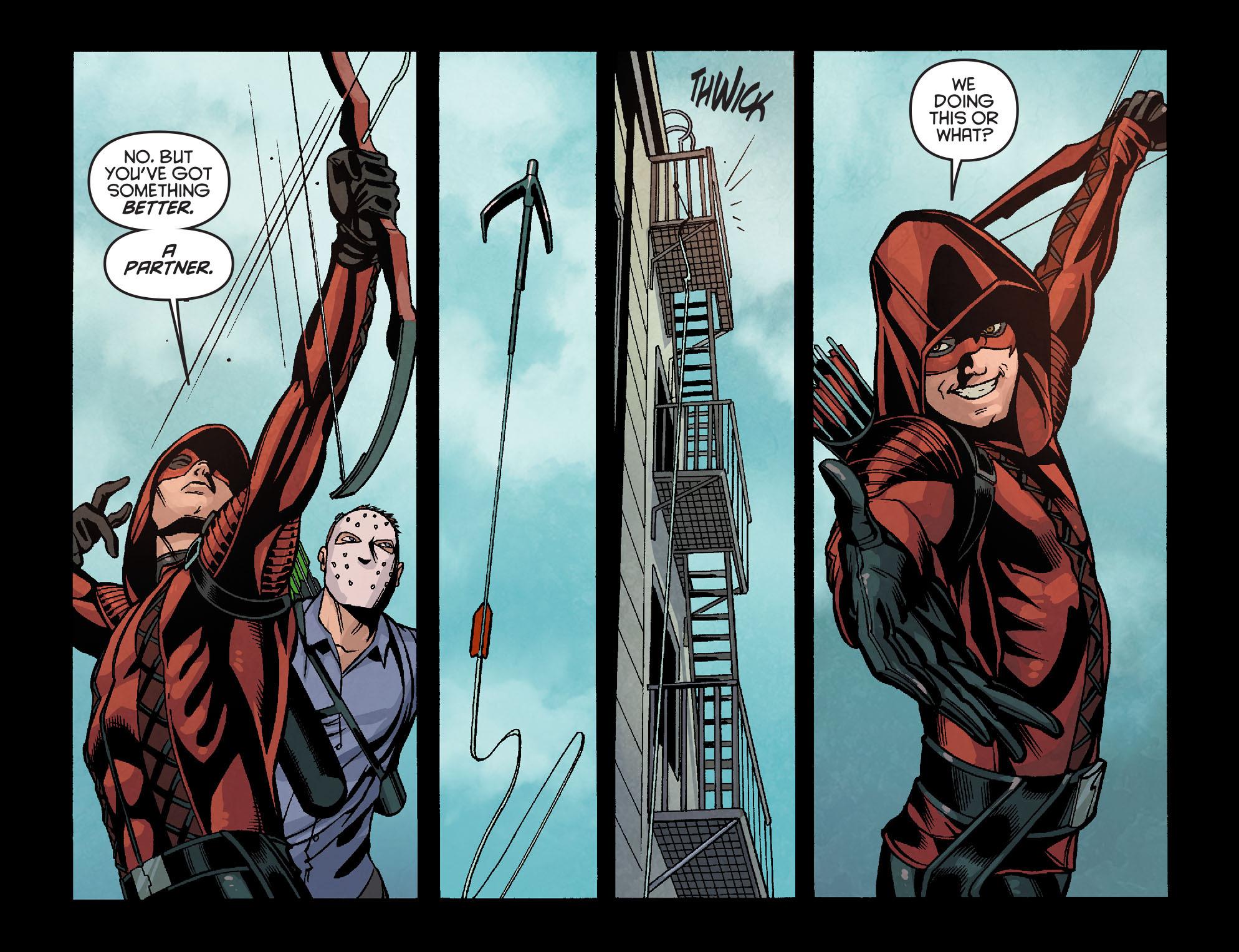 Read online Arrow: Season 2.5 [I] comic -  Issue #18 - 10