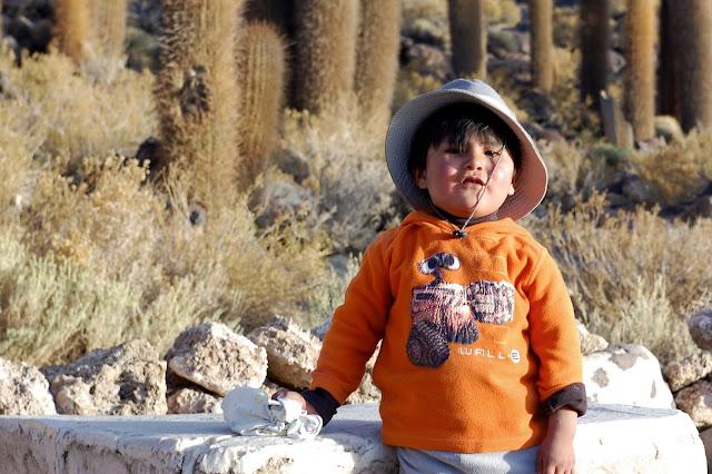 bolivian kid