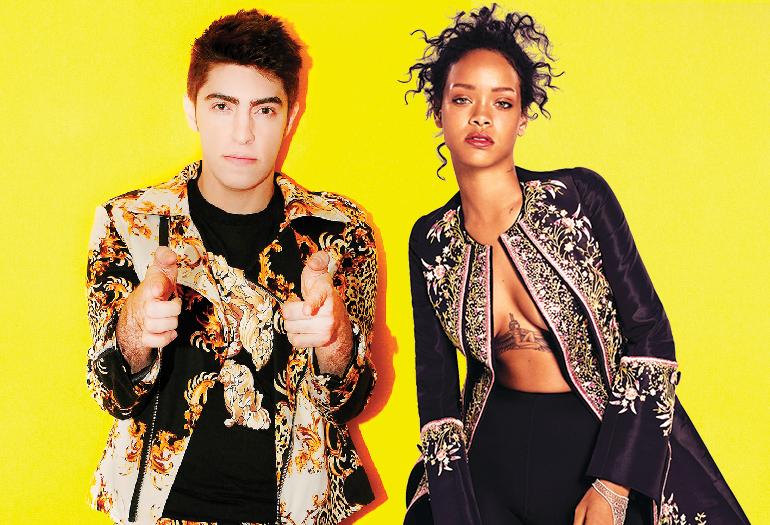 """TÁ CHEGANDO O CARNAVAL! Boss in drama lança remix arrasador para """"Work"""" de Rihanna!"""