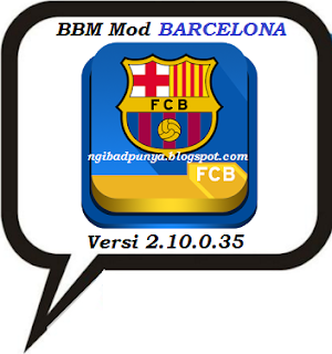 BBM Mod New Version 2.10.0.35 Themes Barcelona