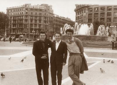 Plaza de Catalunya de Barcelona en 1960