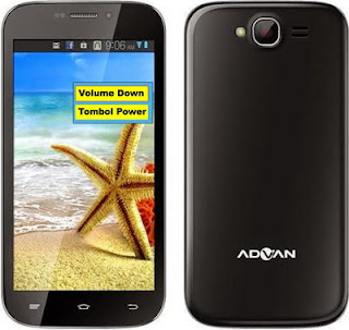Cara Hard Reset Advan S4C Atasi Bootloop